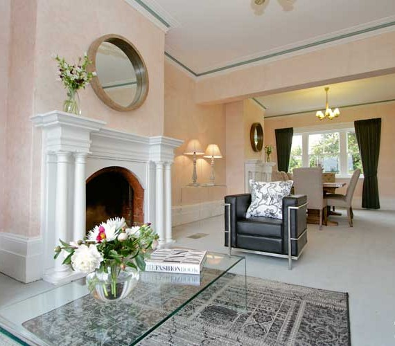 1880's Mansion styled for sale by Shift Property Styling