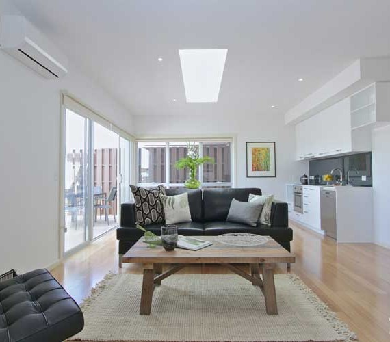 Executive apartment property styling
