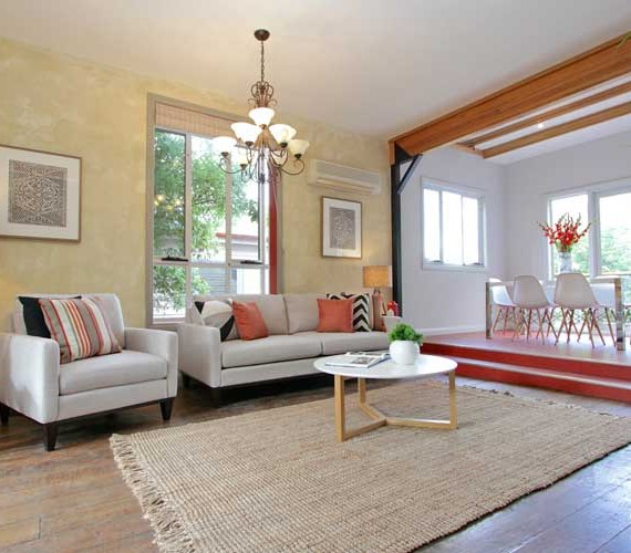 Lounge styling for home for sale