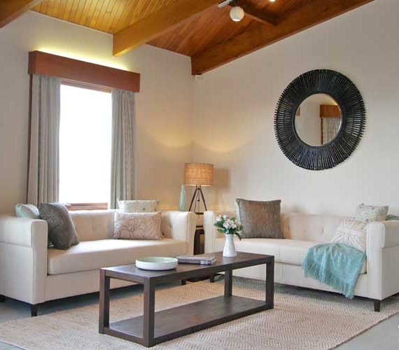 Home styling in a family home