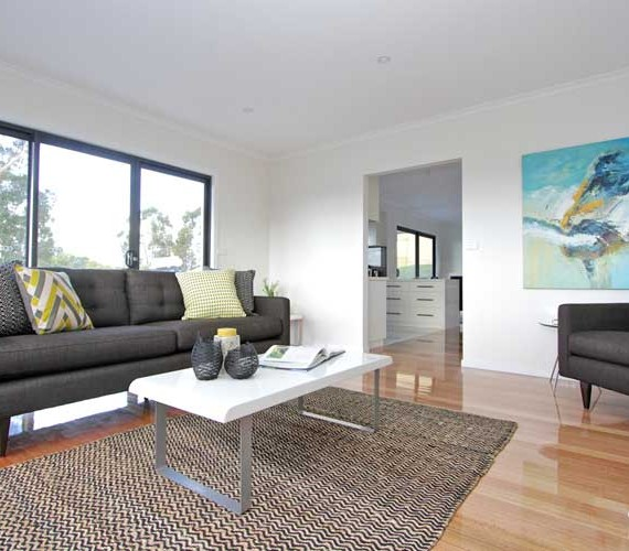 Display home property styling