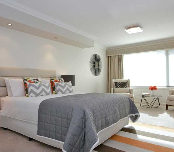 Master bedroom property styling