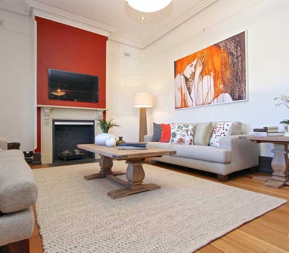 Period inner city home styling