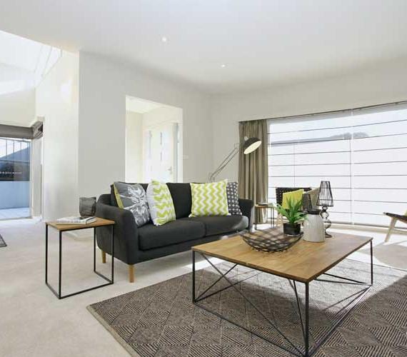 Townhouse property styling Hobart