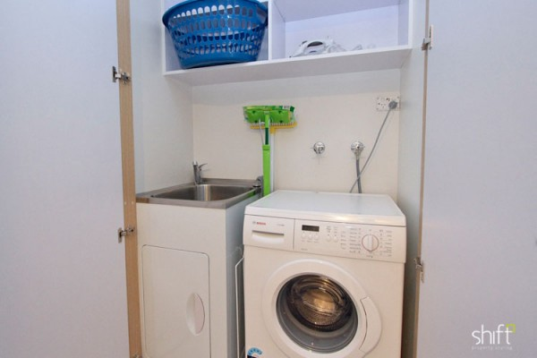 Investment property laundry fitout