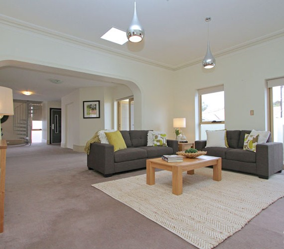 Lounge room styled for sale