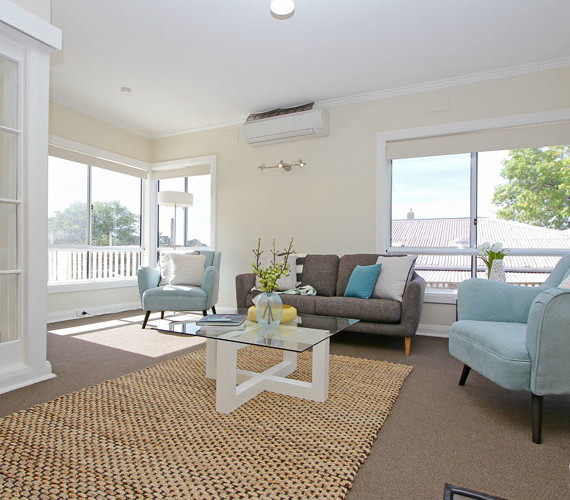 Styling a house for sale creates warmth