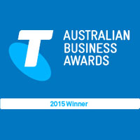 Telstra Business Awards 2015 - TAS Micro Business Award Winner