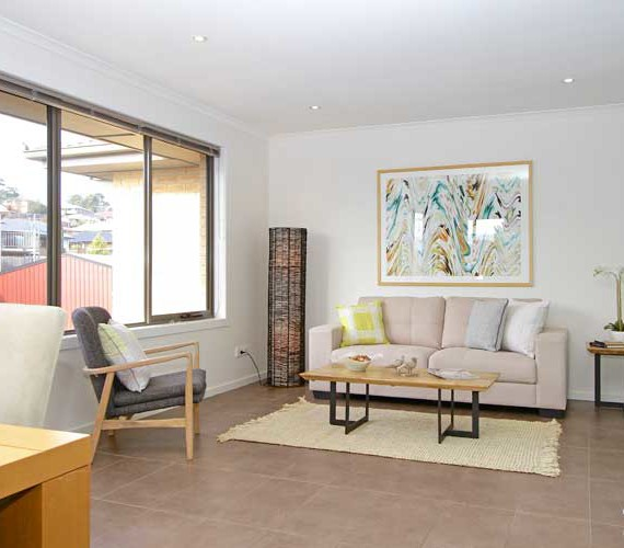 Large family home property styling Hobart