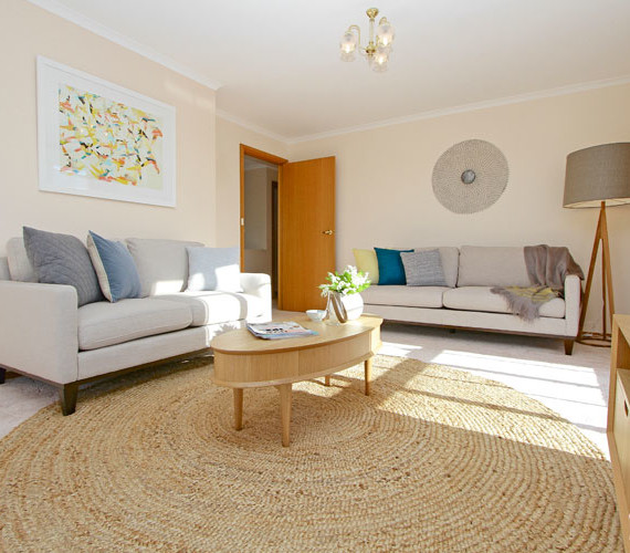 Homes present better when styled for sale