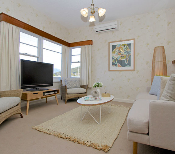 Small home property styling Hobart
