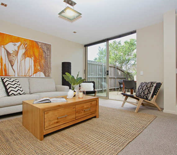 Inner city apartment styling