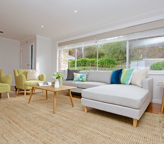 Family home staging hobart