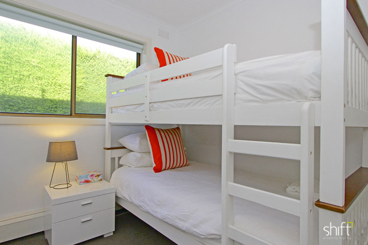 Bunk beds are ideal for short stay accommodation properties