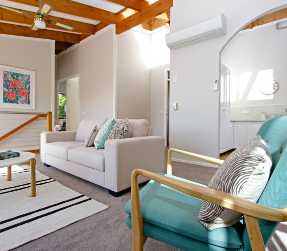 Lounge room property styling