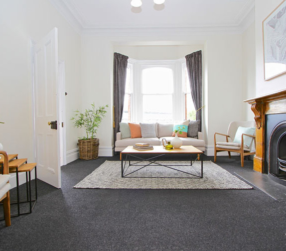 Period home interior styling Hobart