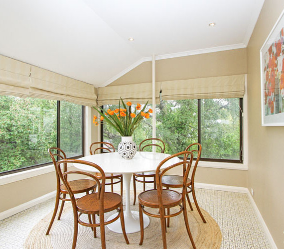 Dining room home styling Hobart