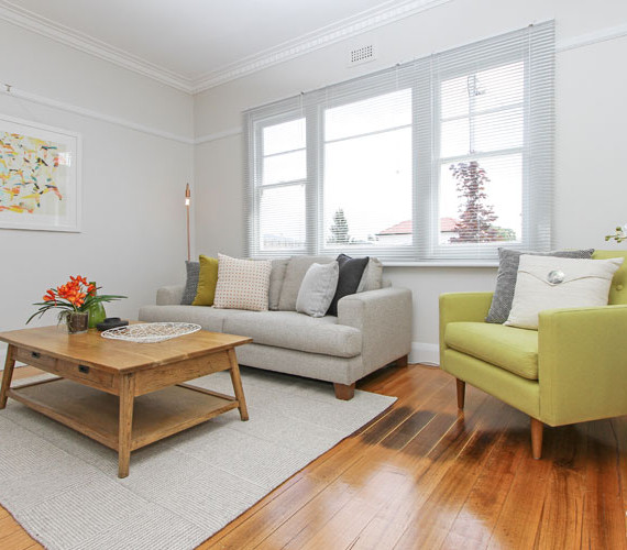 Classic home staging Hobart