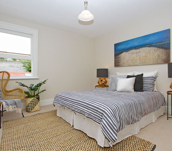 Master bedroom styling in Hobart