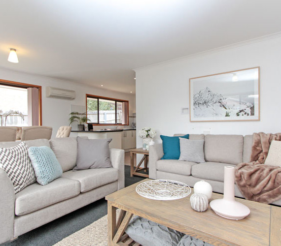 Maximising the space in a unit styling job