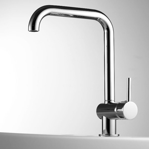 Classic kitchen mixer tap