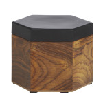 Hexagon Box timber