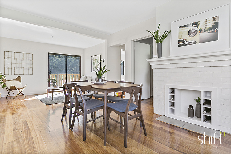 Styled dining room Hobart