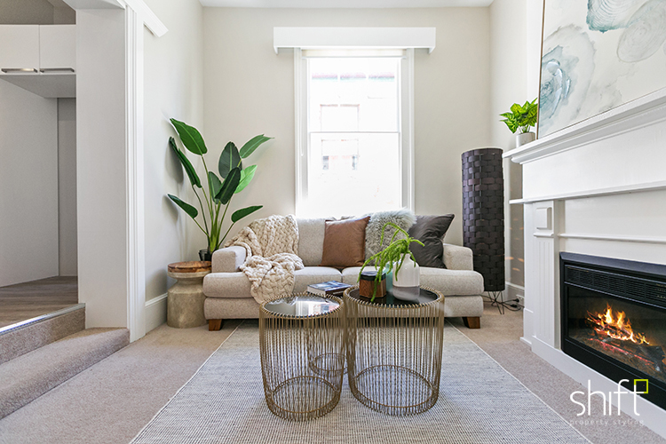 Stunning luxe living room styling