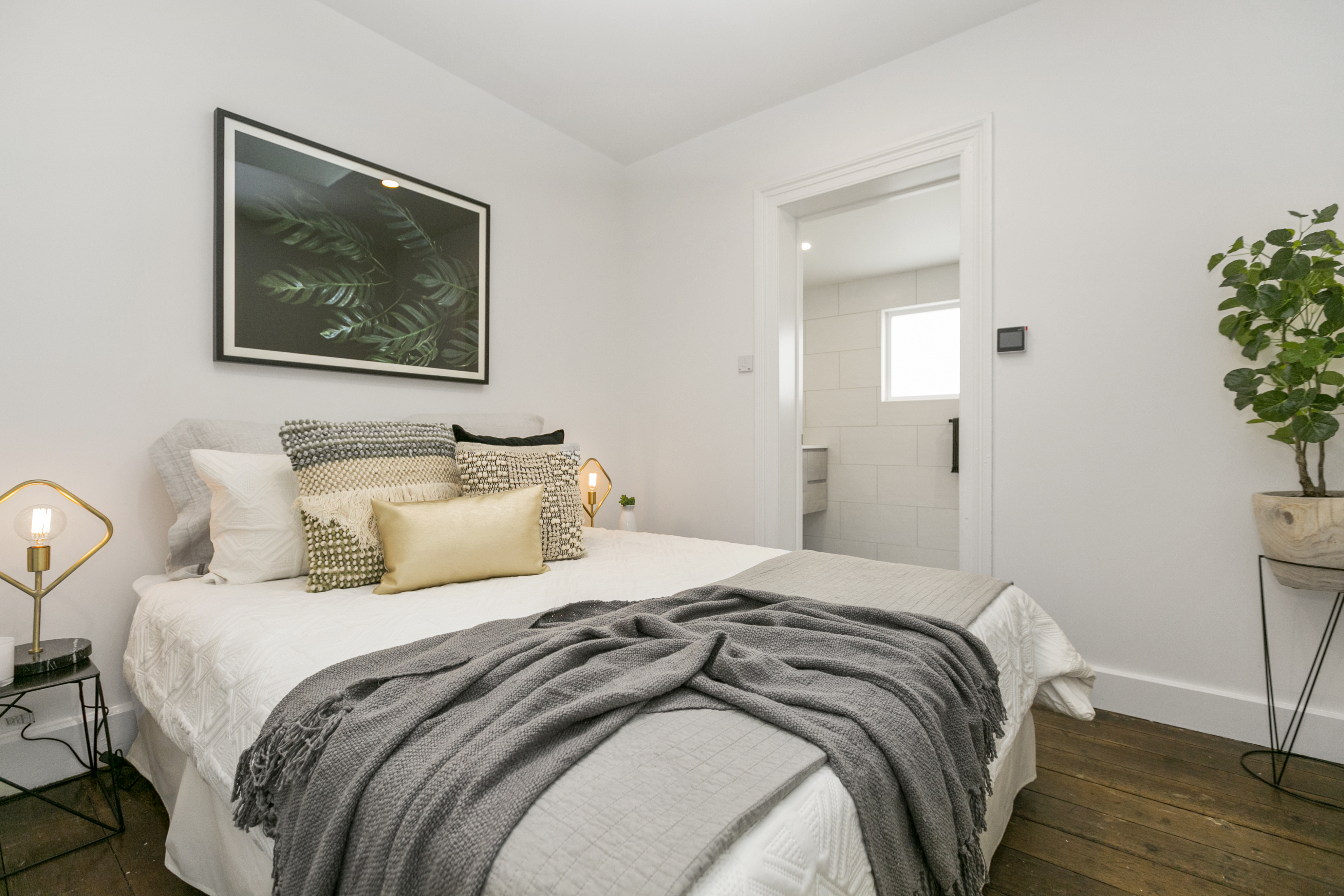 Master bedroom with fully renovated ensuite