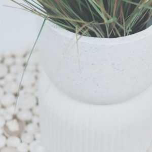Dual Planter pot terrazzo Shift Property Styling